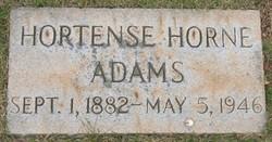 Hortense <i>Horne</i> Adams