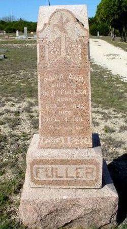 Roxa Ann <i>Fuller</i> Fuller