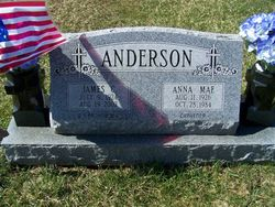 Anna M <i>Cravener</i> Anderson