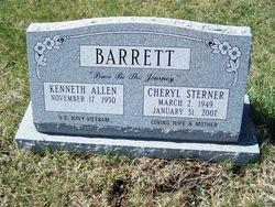 Cheryl Ann <i>Sterner</i> Barrett