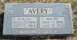 Maude <i>Bivens</i> Avery