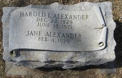 Harold Lee Alexander