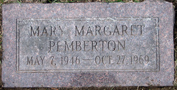 Mary Margaret Maggie Pemberton