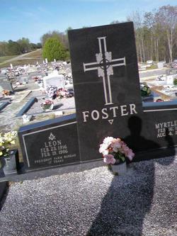 Letha Myrtle <i>Mize</i> Foster
