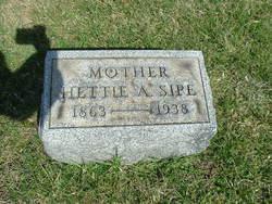 Hettie A <i>Monihen</i> Sipe