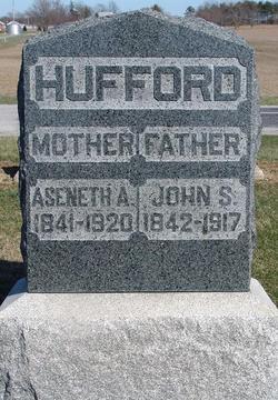 Aseneth Ann <i>Ferrier</i> Hufford