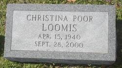 Christina <i>Poor</i> Loomis