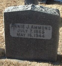 Annie Jane Ammons