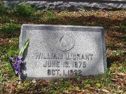 William Jesse Grant, Sr