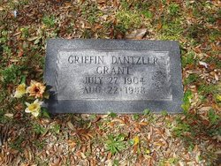 Mary Griffin <i>Dantzler</i> Grant