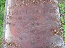 Carolyn <i>Lane</i> Haynes