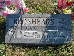 Ruby Lois <i>Dean</i> Broshears