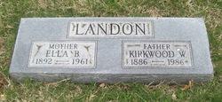 Ella B. Landon