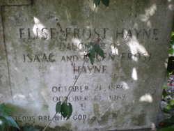 Elise Frost Hayne