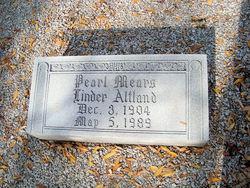 Pearl Mears <i>Linder</i> Altland