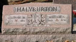 Gertrude M Halyburton