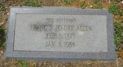 Rev Francis Maury Allen