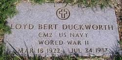 Loyd Bert Duckworth