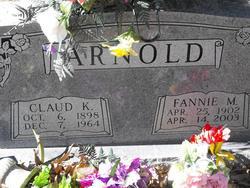 Fannie May <i>Bartee</i> Arnold