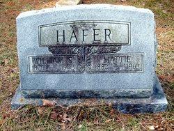 Mattie Elizabeth <i>Goodrum</i> Hafer