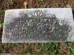 PFC Albert Lee Davis