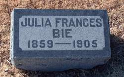 Julia Frances <i>Breese</i> Bie