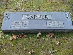Mary Lee <i>Rigsby</i> Garner