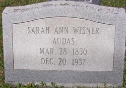 Sarah Ann <i>Wisner</i> Audas