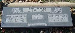 Mildred L Pete <i>Burklow</i> Staton