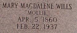 Mary Magdalene Mollie <i>Wills</i> Sutton