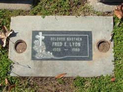 Fred Elbert Lyon