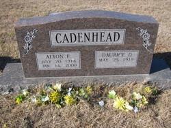 Alton F Cadenhead