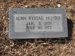 Alma <i>Rystad</i> Hunter