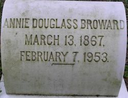 Annie Isabell <i>Douglass</i> Broward