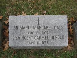 Sr Marie Margaret Oats