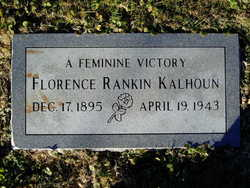 Florence <i>Rankin</i> Kalhoun