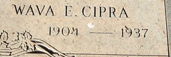 Wava Elizabeth <i>Jackson</i> Cipra