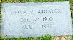 Cora <i>Mangum</i> Adcock