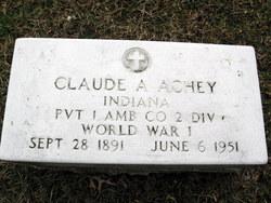 Pvt Claude A Achey