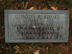 Clinton R Adams