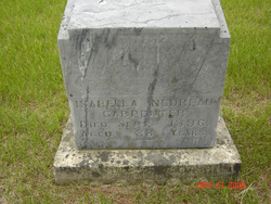 Isabelle <i>Nedreau</i> Carpenter