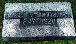 Sarah J. <i>Underwood</i> Glass