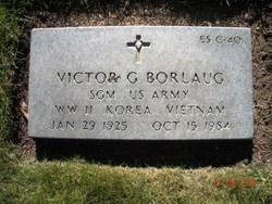 Sgt Maj Victor G Borlaug