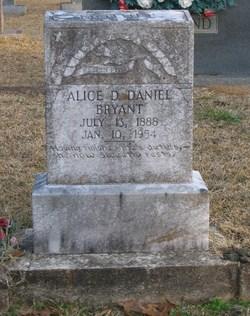Alice Deborah <i>Lambert-Daniel</i> Bryant