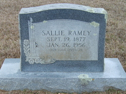 Sallie J. <i>McCann</i> Ramey