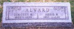 Abigail W. Abbie <i>Wilkinson</i> Alward