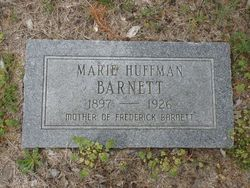 Marie <i>Huffman</i> Barnett