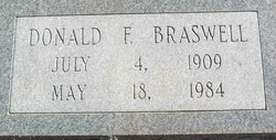 Donald Franklin Braswell