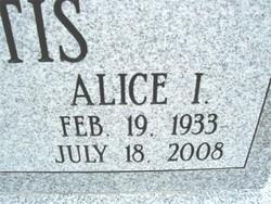Alice Irene Boots <i>Hammack</i> Curtis