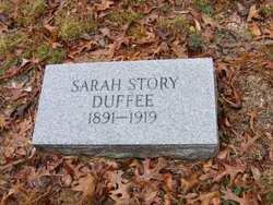 Sarah <i>Story</i> Duffee